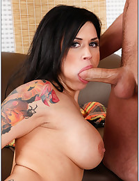 Tattooed Minx Loves Fucking Thick Cock