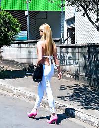 Brazilian bikini girl anal se...