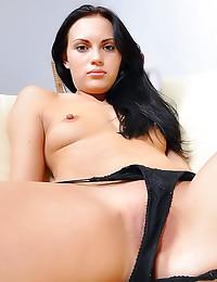 Stunning beauty in sexy panti...