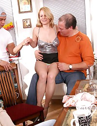 Kristina Getting Shared By Hubby