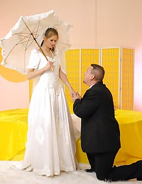 Banging the bride hardcore before the wedding