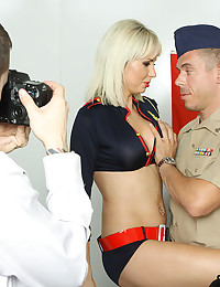 Leggy Margo Bounces On Fat Cock