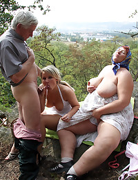 Condom selling chick banged by horny couple