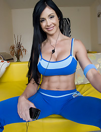 Hot workout milf