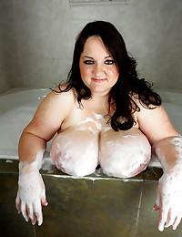 Soapy BBW tits
