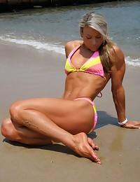Mega muscular amazons.