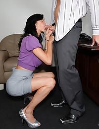 Slutty big tits milf great sex