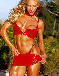 Misunderstanding the female bodybuilder.