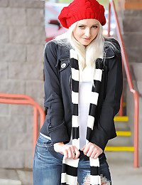 Cute Blond Teen Layden Is A Tease