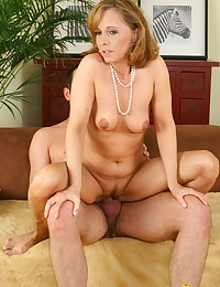 Blond Mom Good At Handling Cock