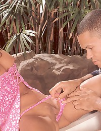 Retro asian chick banged hard...