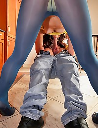 Tight Bodied Teen Gets Drilled