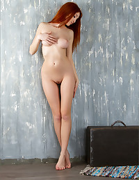Fiery ginger bares it all for MPL Studios.