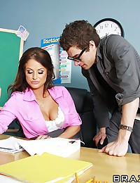 Xander is a great student. He aces almost every exam that he writes, there's only one subject he just can't quite grasp. Brooke knows that all students should be well rounded, so when Xander fails his Sex Education exam, she knows the only way that he'll