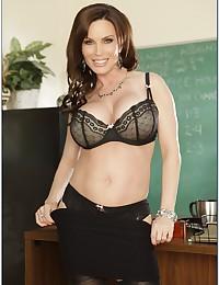 Teacher is slut for cock