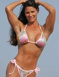 Stare at nice natural breasts, sporty round asses and long legs of these female sport athletes now!