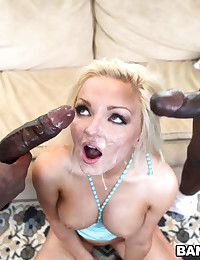 And these gentlemen know how to use their monstrous cocks. Especially when it comes to fucking hot blondes with tight pussy holes like Jenna's.