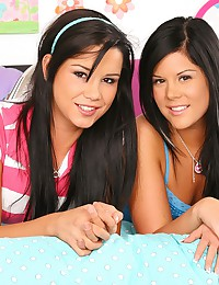 Two Very Cute Teens Team Up