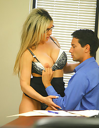 Sexy business chick having sex