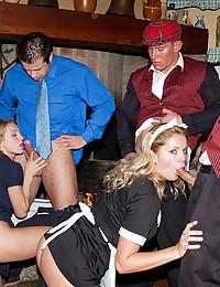 Lustful Maid Pleasures Her Master