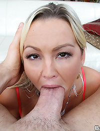 Saucy Blonde Minx Gets Anal Ploughed