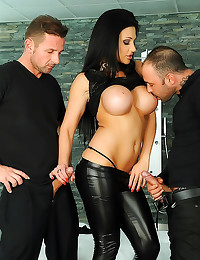 DP with leather pants girl