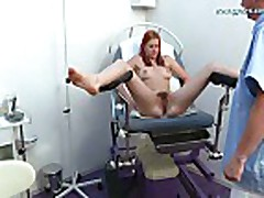 Pussy shaving before gyno exam