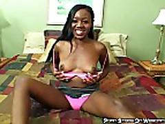 Black Slut In Pink Panties