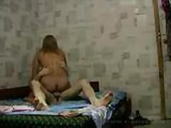 Private Russian amateur porn movie