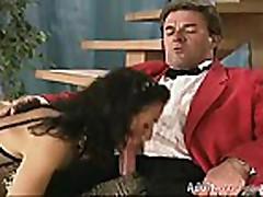 British slut Zoe in german orgy