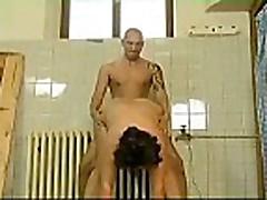 Granny At The Sauna