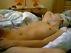 she watches a porno
