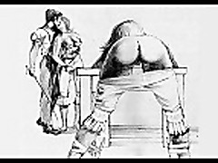 Bizarre and Erotic Female Spanking Artworks