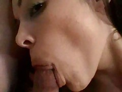 Tasty tattooed slut with pierced clit fucked