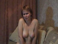 Russian mature shows her best