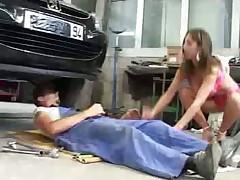 Garage fucking