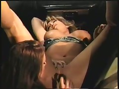 Jasmine Mars and Felicity Candle Lap Fuckhole in Yellow