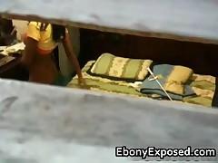 Spying My Black Teen Neighbour 6 EbonyExposed