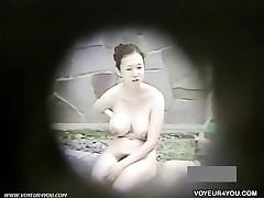 Cute Girls Swim And Sunbathe Absolutely Naked