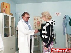 Hot Amateur Housewife Visits A Weird Gyno Doctor Who Loves Using Bizarre Gyno Instruments On Aged Wo
