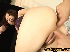 Asian Babe Gets All Her Holes Filled 11 By AssNippon