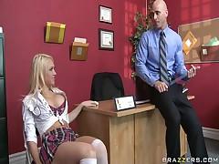 Kagney Linn Karter - Big Tits At School