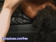 Vicky - Vicky Pushes Her Limits And Does Her Best To Deepthroat A Big White Dick
