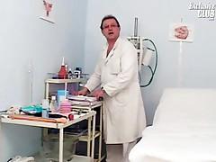 Helga - Helga Gyno Pussy Speculum Examination On Gynochair At Kinky Clinic