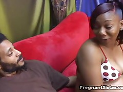 Cookie And Dick James - Pregnant Sistas