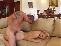 Pale Blonde Anal Fun
