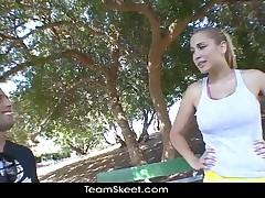 TeamSkeet Busty Big Tits Blonde Brunette Pornstar Hardcore Sex Compilation