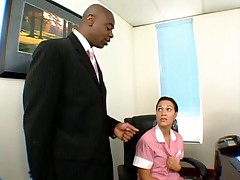 Cleaning Lady Served Dark Meat