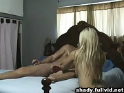Cheating Blonde Cumshot