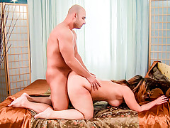 horny shy milf gets her hot wet pussy fucked with a big cock